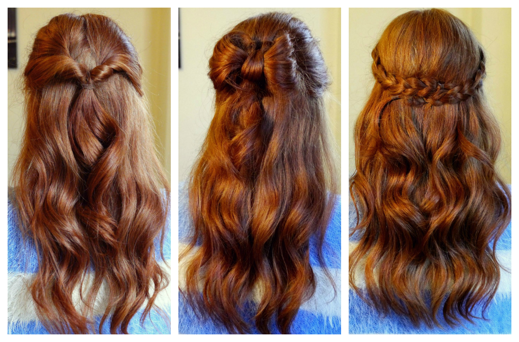 How To: 3 Easy Half-Up Hairstyles | Kathryn\'s Katwalk