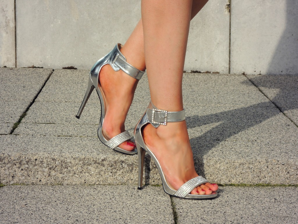 Jewelled Heeled Sandals - Kathryn's Katwalk
