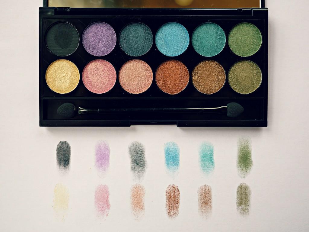 sleek i divine eyeshadow palette swatches