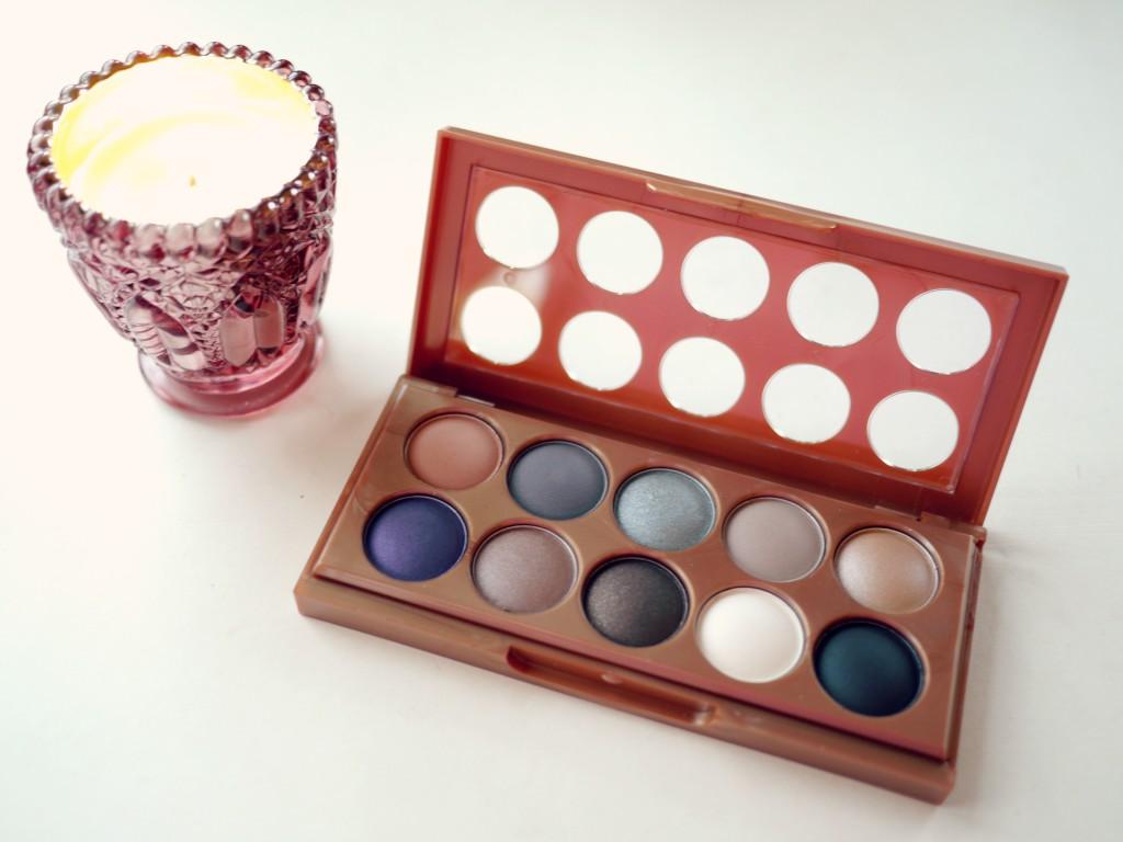 NYX eyeshadow palette - kathryns katwalk