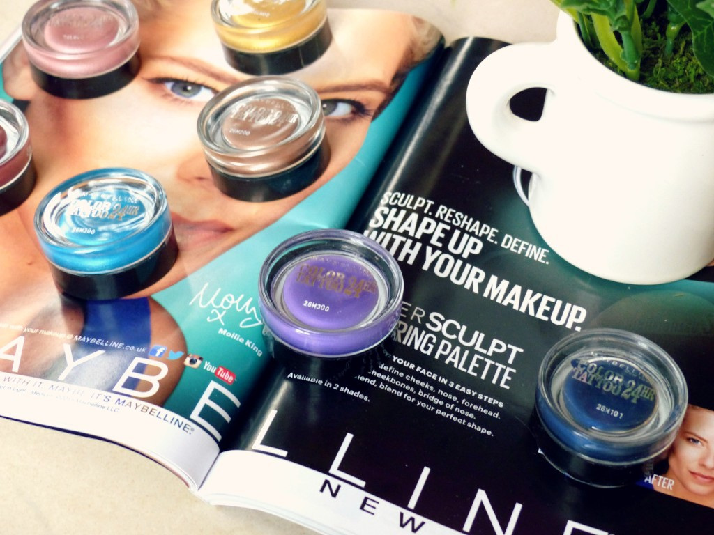 Maybelline color tattoos review - kathryns katwalk - beauty