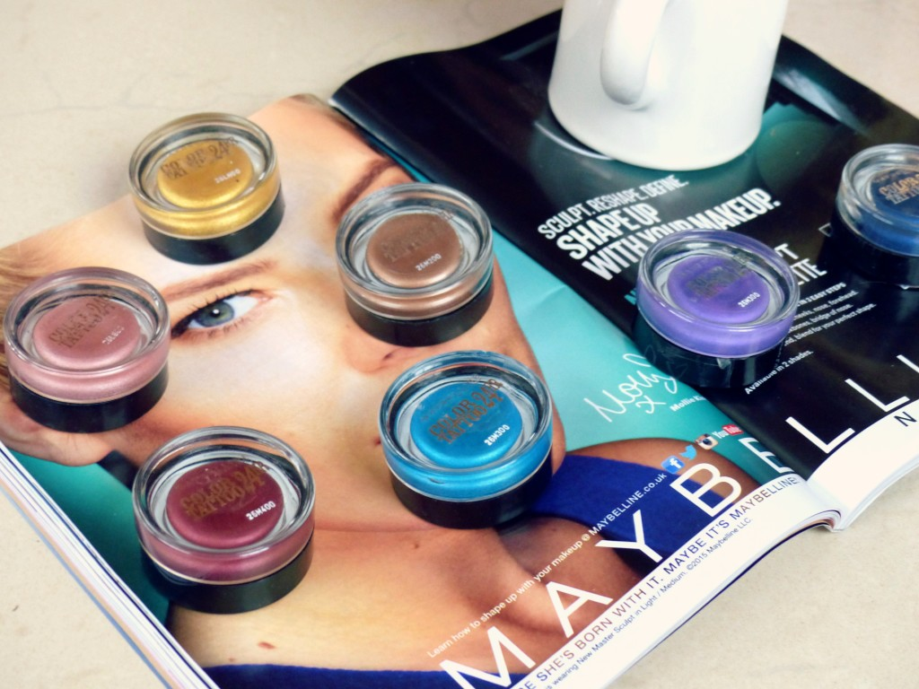 color tattoos by maybelline - kathryns katwalk
