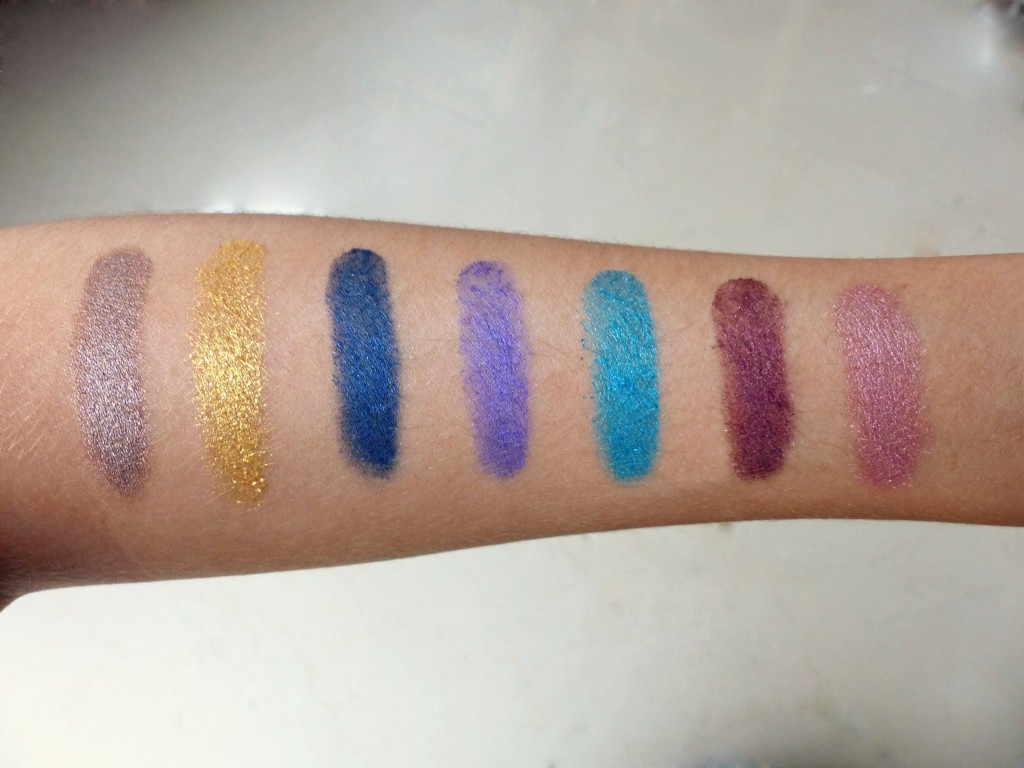 maybelline colour tattoo swatches - kathryns katwalk