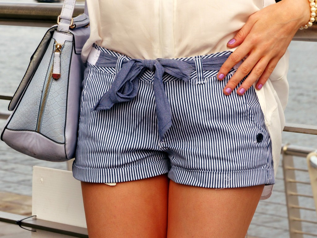 nautical shorts the shopping bag