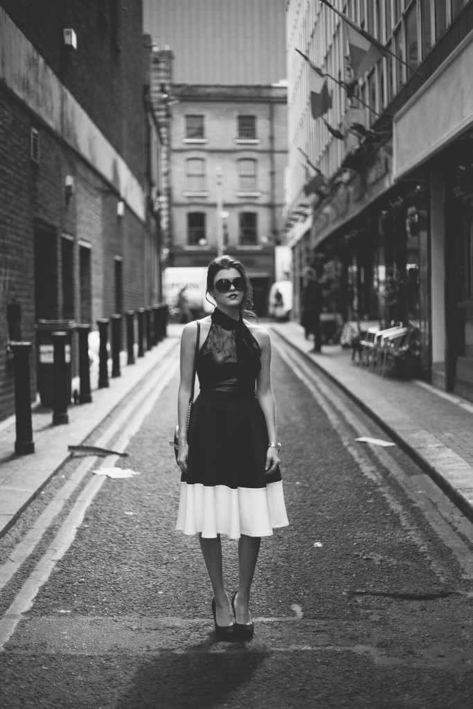 kathryns katwalk - black and white - kathryn o brien - stylist