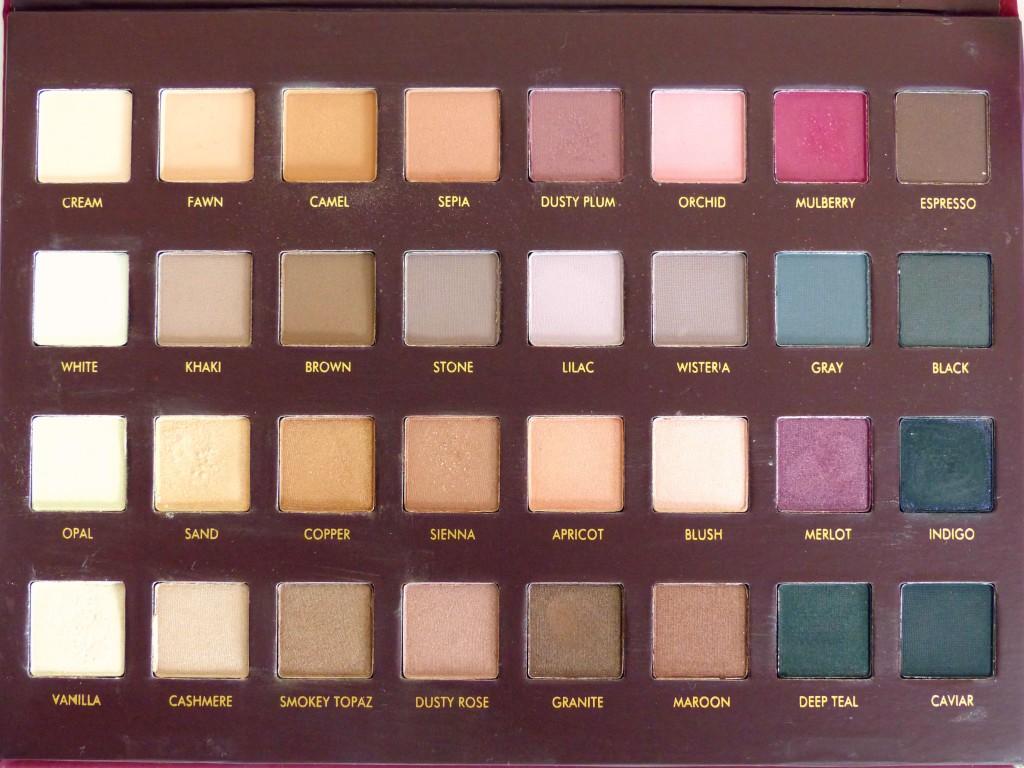 lorac mega pro palette eyeshadows - colours - kathryns katwalk