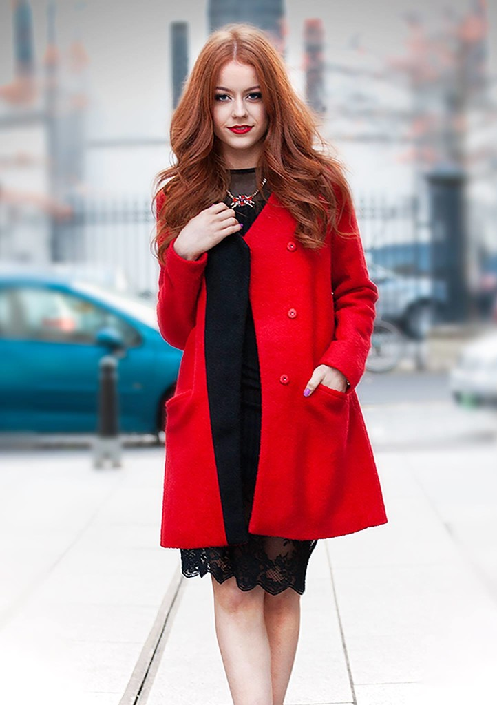 Little Mistress Red Coat