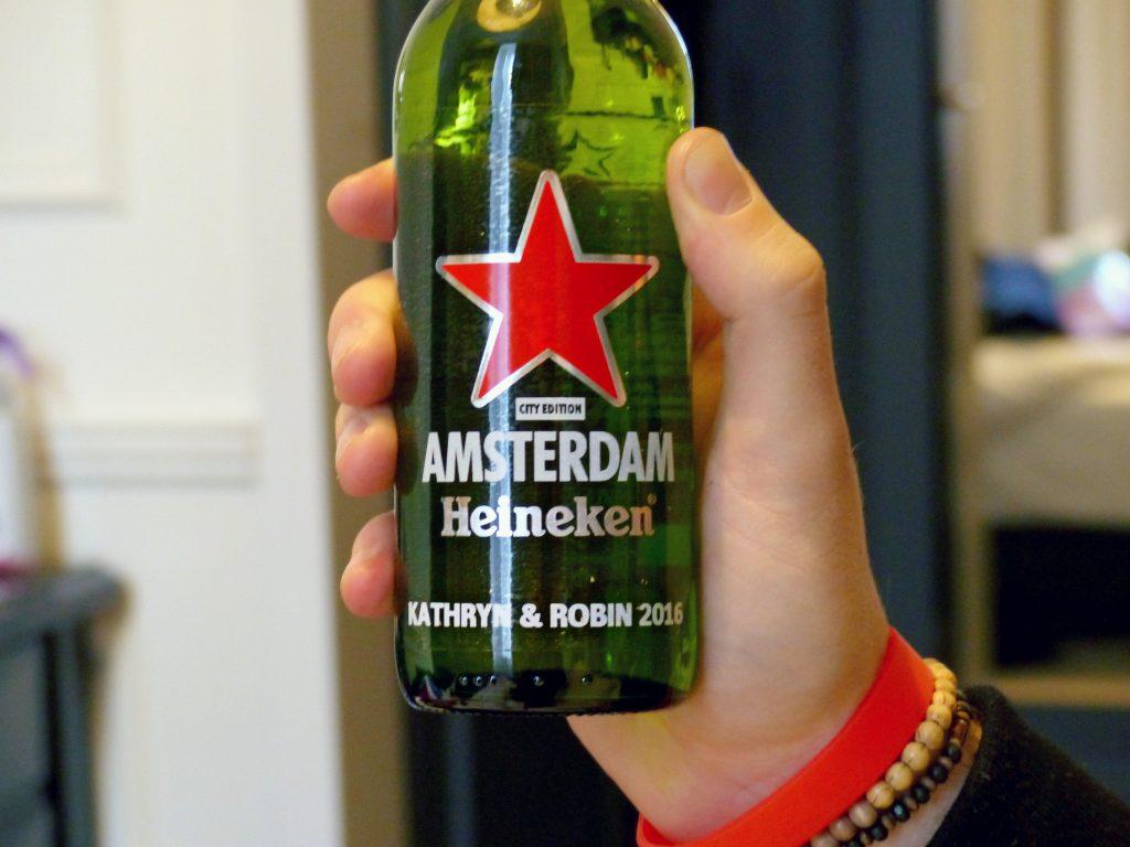 personalised heineken bottle