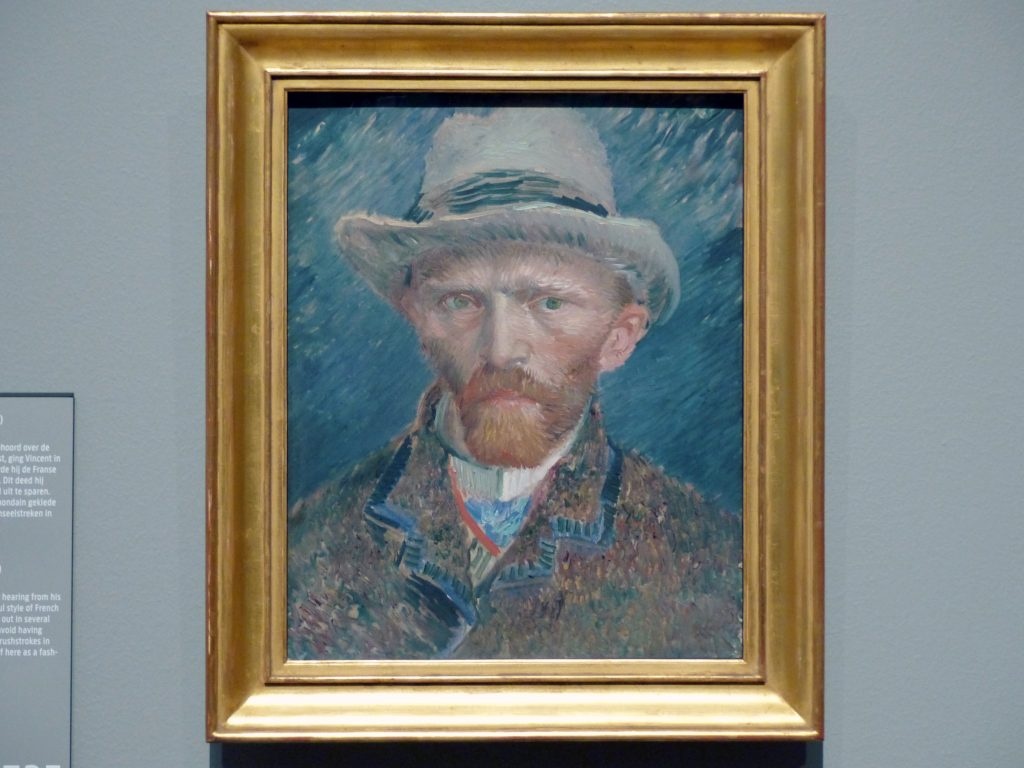 van gogh self portrait